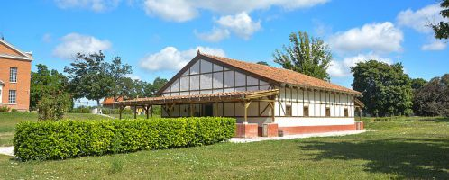 Reconstruction of a Roman house from the ancient city of Aquincum