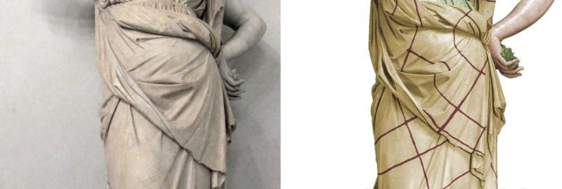 Reconstruction of the statue of Juno