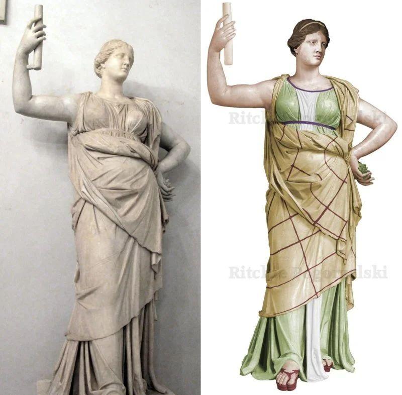 Rekonstrukcja posągu Junony