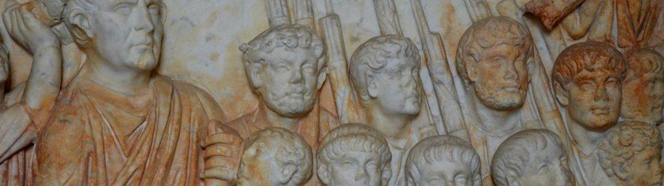 Relief showing Trajan's posthumous triumph
