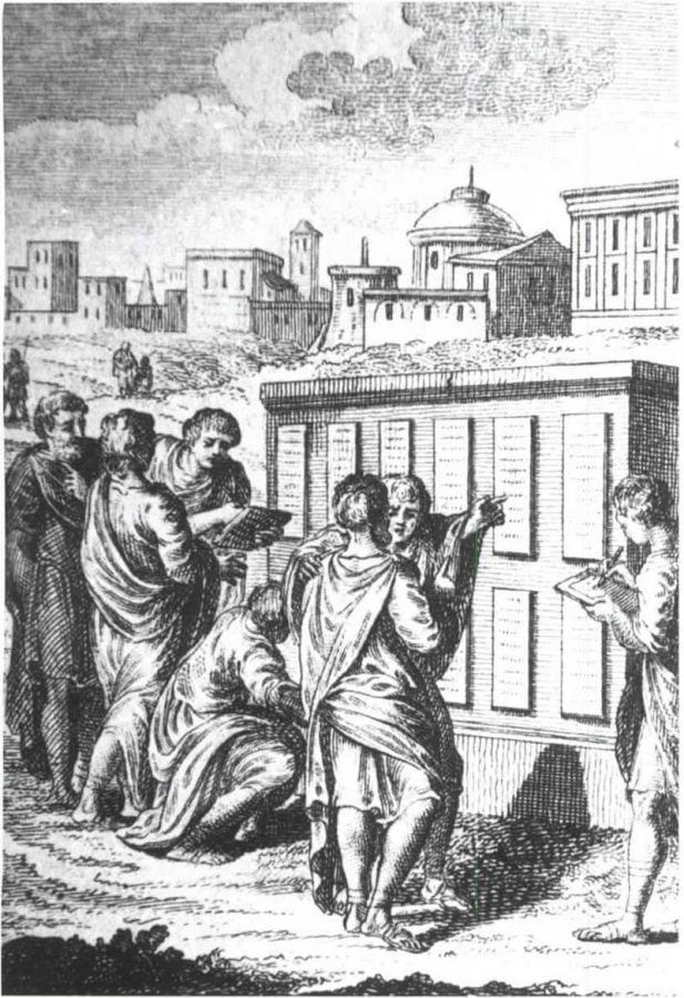 Przeniesienie prawa własności w starożytnym Rzymie
