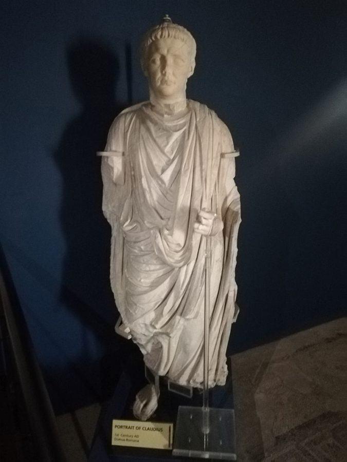 Rzeźba cesarza Klaudiusza