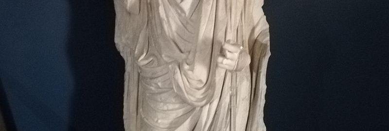 Sculpture of Emperor Claudius from the 1st century CE