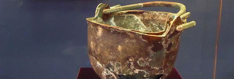Roman copper bucket