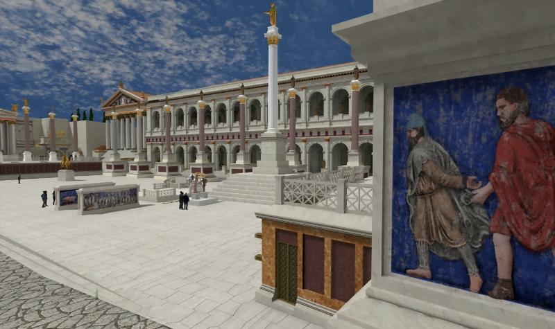 """""""Rome Reborn"""" - projekt odtwarzający antyczny Rzym z 320 roku n.e."""