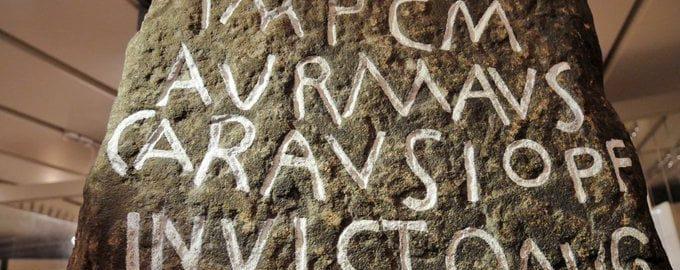 Kamień milowy cesarza Karauzjusza