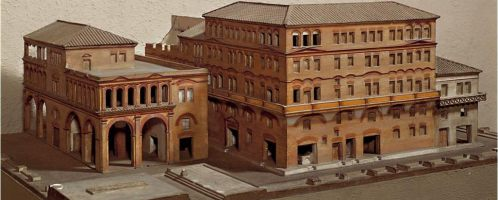 Roman tenement house