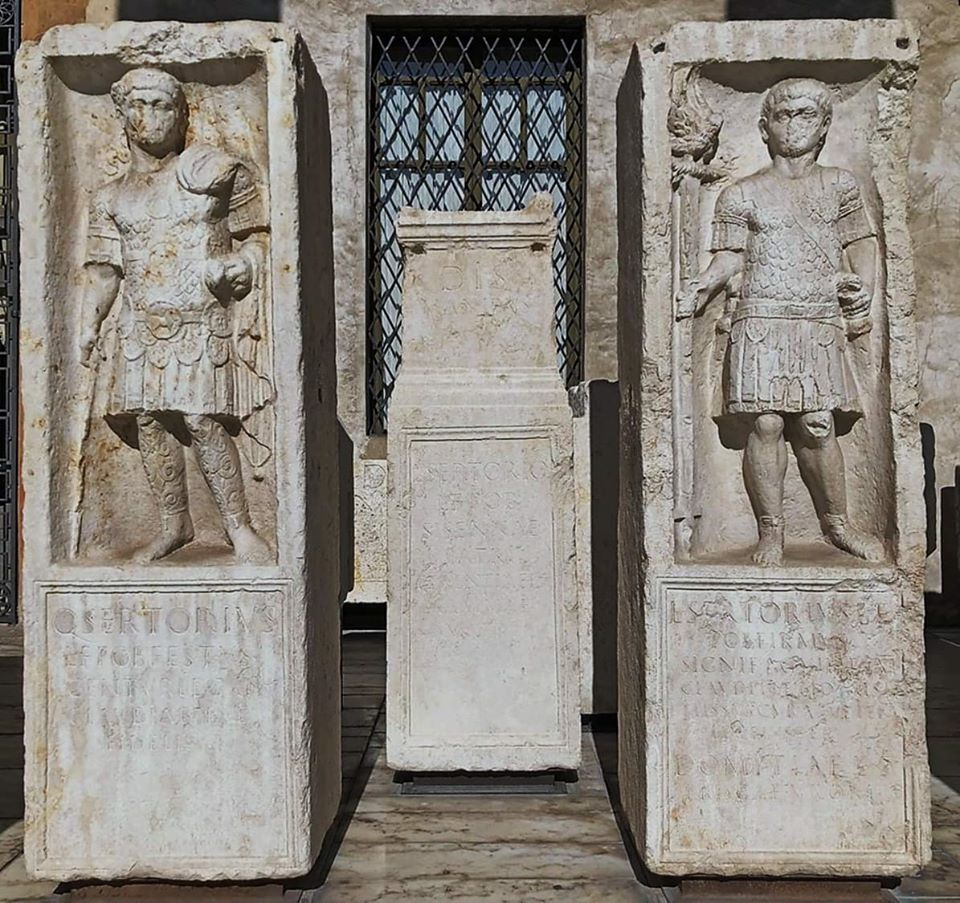 Stone monuments of Roman brothers