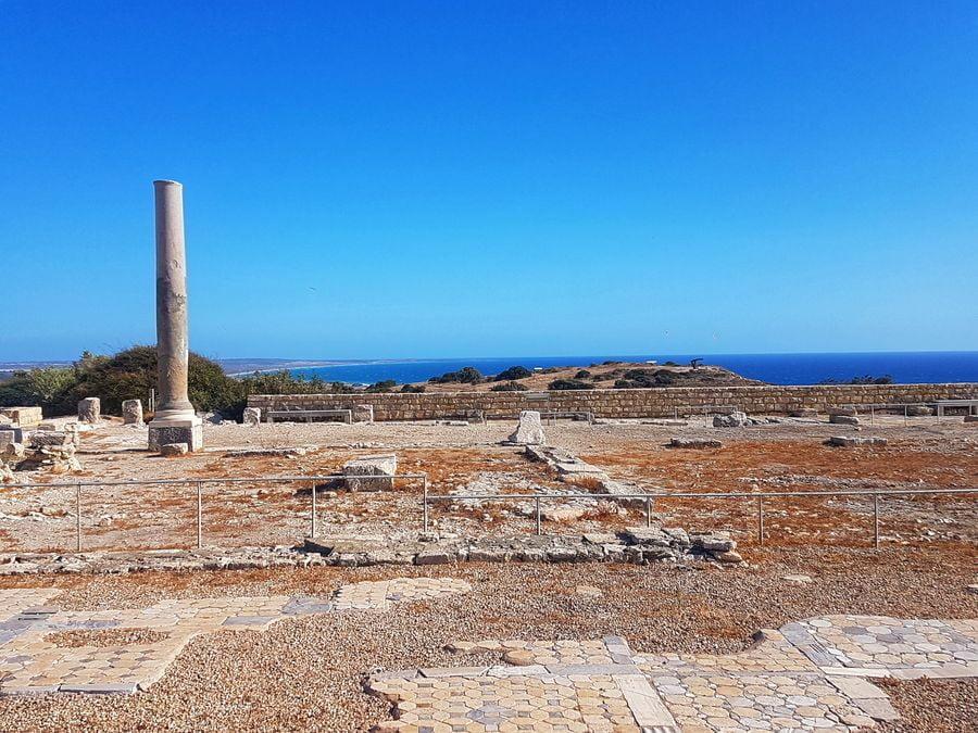 Kurion - rzymska agora