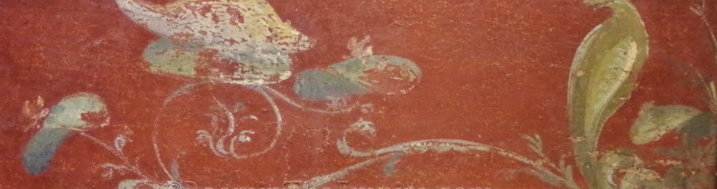 Malowidło rzymskie ukazujące mysz