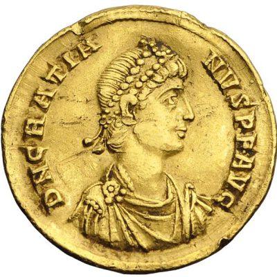 Coin of Gratian