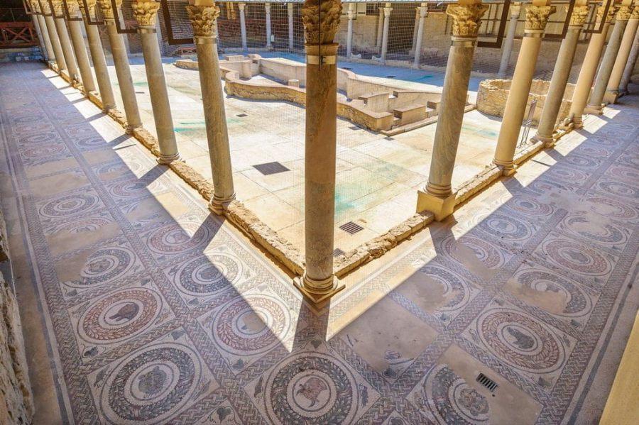 Villa Romana del Casale - rzymska luksusowa willa na Sycylii
