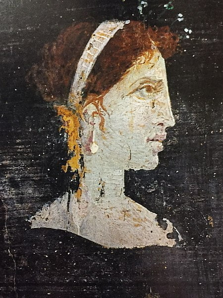 Possible portrait of Cleopatra from Herculaneum