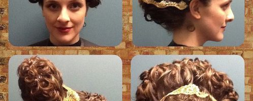 Reconstruction of a woman's hairstyle from the Flavian dynasty