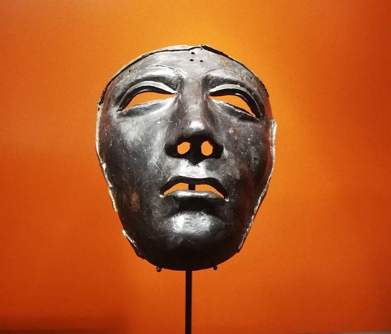 Rzymska maska legionisty