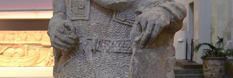 Statua żołnierza galijskiego