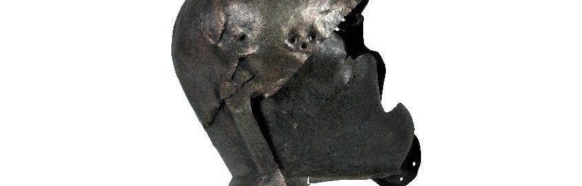 Well-preserved Roman helmet from Serbia