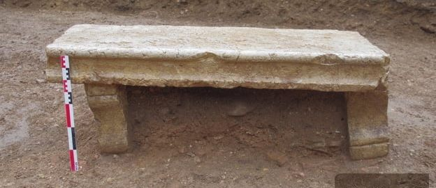 Odnaleziono rzymską ławkę we Francji