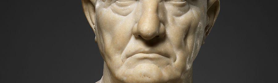 Roman bust of a man