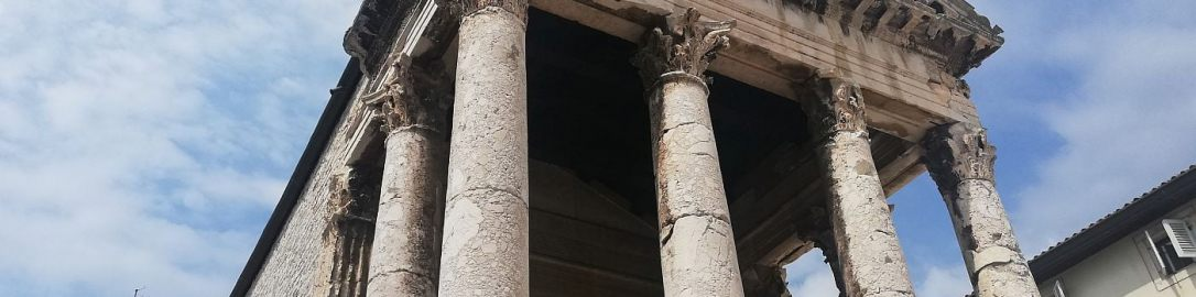 Temple of Augustus and Roma in Pula