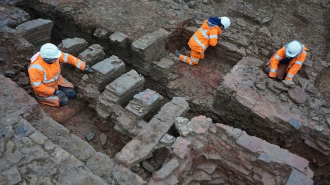 In England, remains of Roman production complex was found