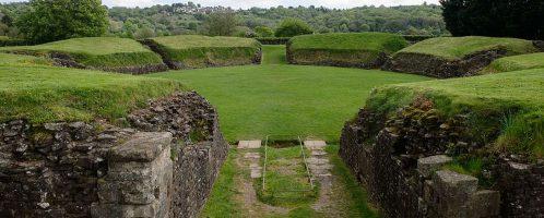 Roman Amphitheater in Caerleon