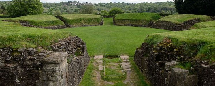 Roman Amphitheater in Caerleon