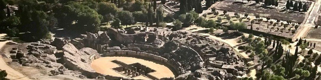 Roman amphitheater in Italica