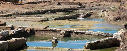 Archeolodzy odkryli duży antyczny basen pomiędzy Rzymem a Ostią