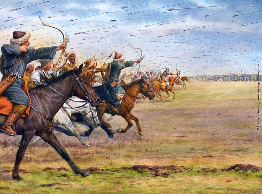 Przyczyny inwazji Hunów na zachód?