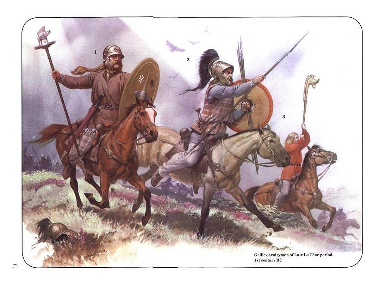 Jeźdźcy galijscy z I wieku p.n.e