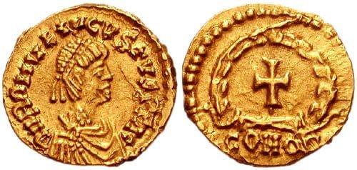 Coin of Romulus Augustulus