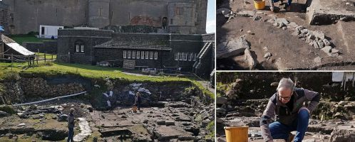 The remains of a Roman building have been discovered in northern England
