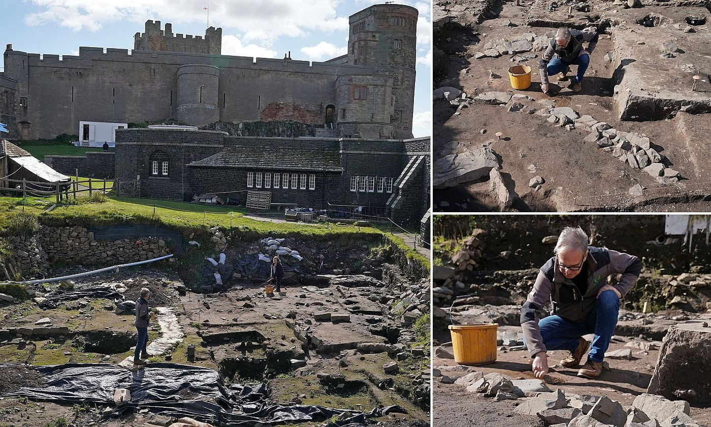 Remains of Roman building discovered in northern England