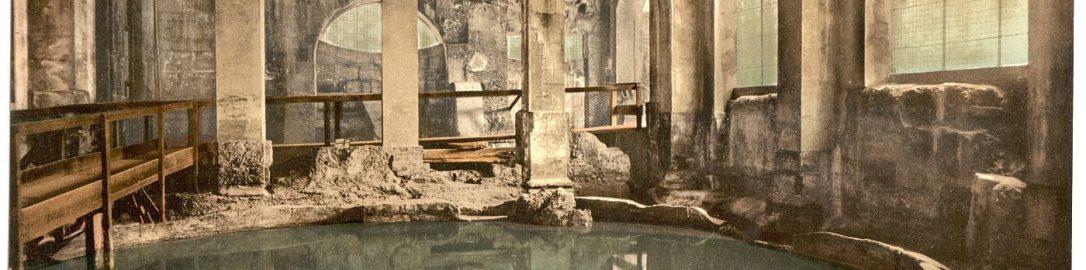 Okrągła łaźna w Bath (Anglia)