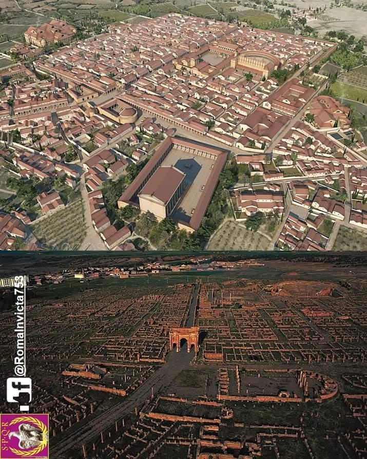 Rekonstrukcja Colonia Marciana Ulpia Traiana Thamugadi