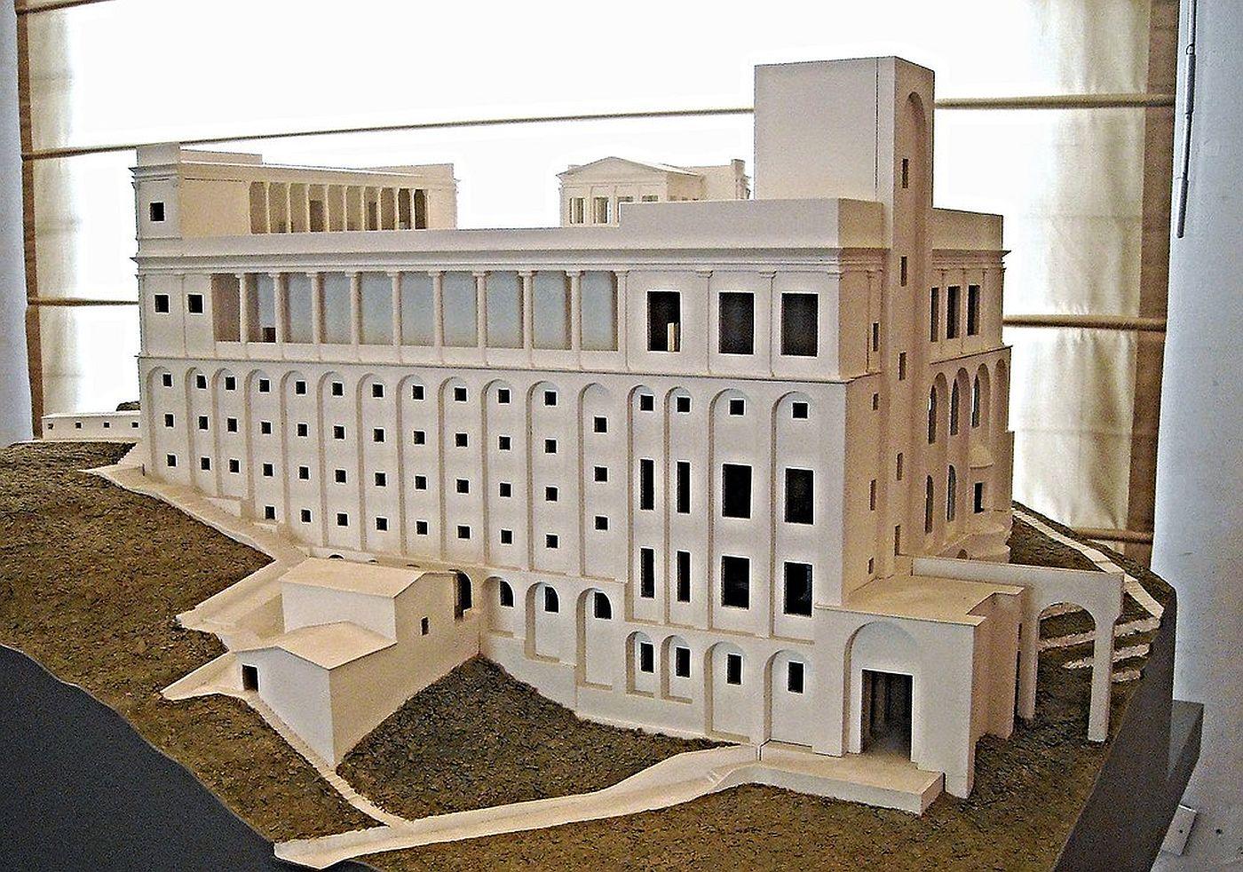 Rekonstrukcja Villa Jovis
