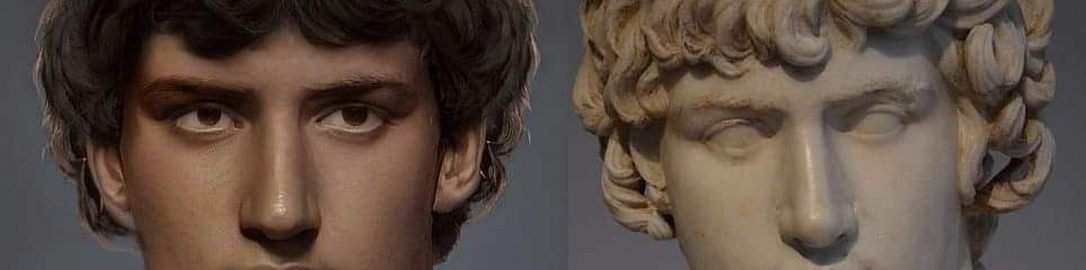Reconstruction of the image of Antinous