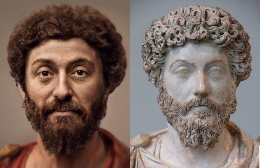 Rekonstrukcja wizerunku Marka Aureliusza