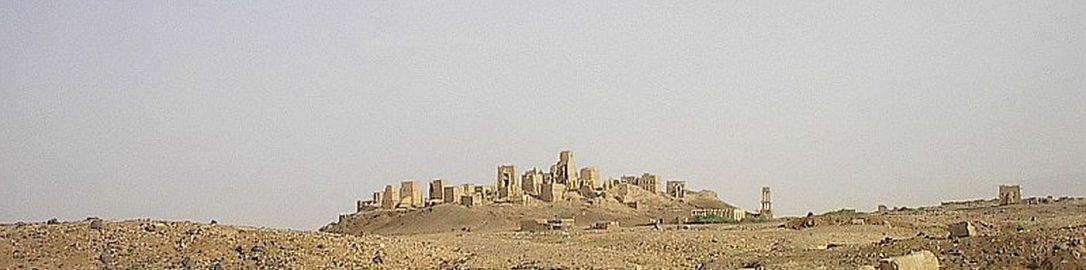 Ruiny Starego Maribu w Jemenie