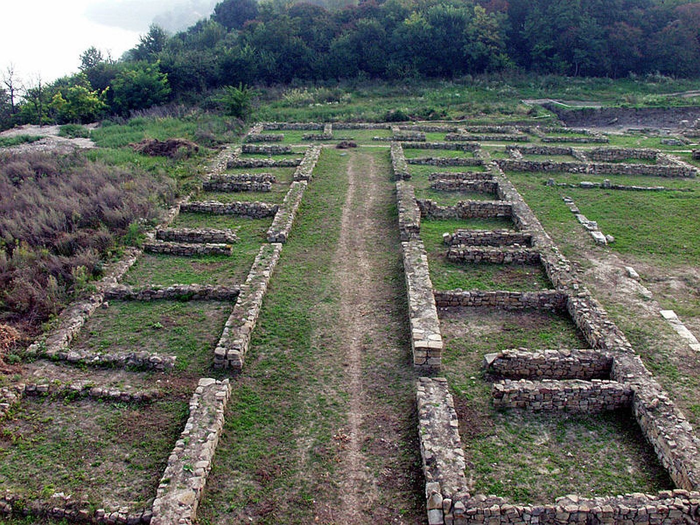 Ruiny szpitala wojskowego w Novae na terenie dawnej prowincji Mezja Dolna