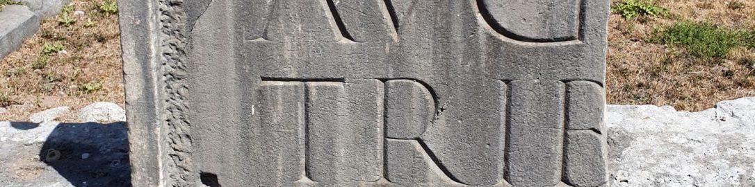 Rzymska inskrypcja