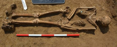 An early Christian tomb was discovered in Viminacium