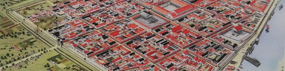 Wizualizacja Colonia Ulpia Traiana