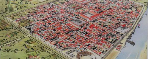 Visualization of Colonia Ulpia Traiana