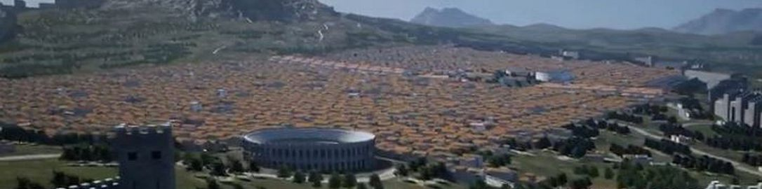 Visualization of Corinth in 2nd century CE