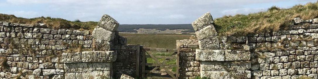 Roman gate near Fort Housesteads