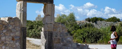 Gate at the baths in Patara