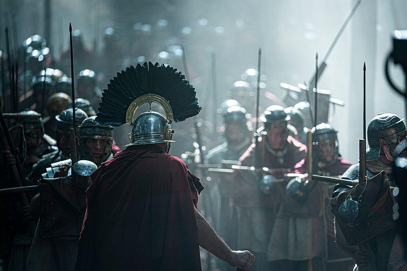 Legioniści w serialu Barbarians