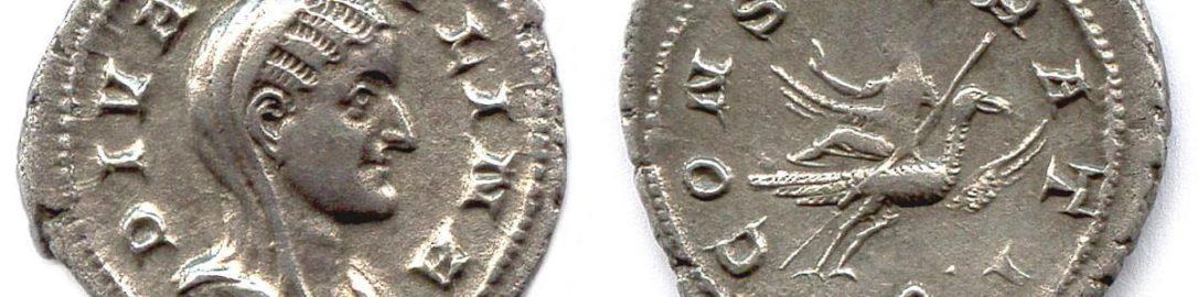 Coin of Caecilia Paulina
